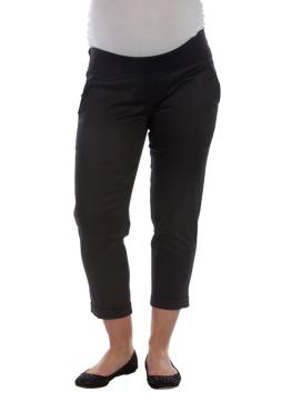 Cotton sateen capris