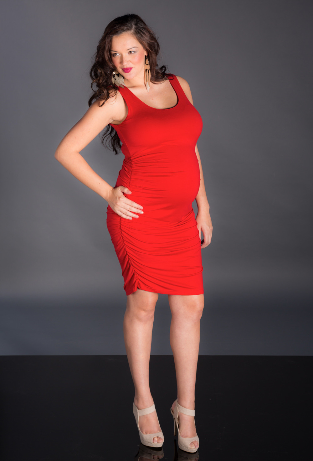 Motherly instincts two hearts maternity scarlett dress click to enlarge image ombrellifo Images